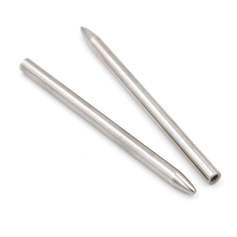 2pcs 550 Paracord Fids Lacing Stitching Weaving Needles Stainless Steel Works For Laces Strings Paracord