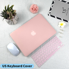 Matte Hard Shell Laptop Case For Macbook Pro Air M1 13 A2338 A2251 Case For Macbook Air 13 A2337 A2179 With EU US Keyboard Cover