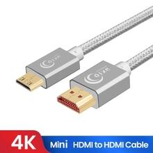 Высокоскоростной мини hdmi кабель 4k 3d 1080p 1 м 2 3 5