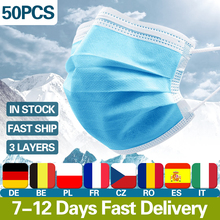 10 50 100Pcs Medical font b Masks b font 3 Layer Filter Disposable font b Masks