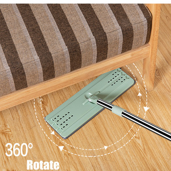 Touchless Mop Accessories Flat Floor Wash Bucket Part Magic Cleaner Self-wring Squeeze Household Cleaning Automatic Drying