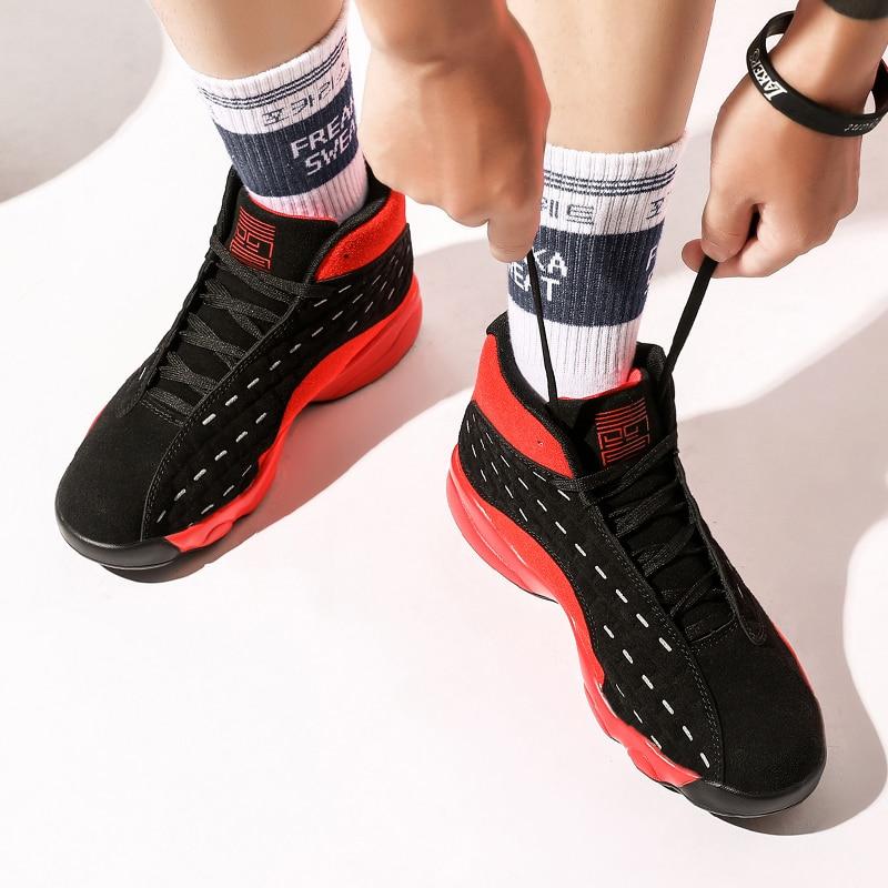 Chaussures de basket-ball haut de gamme chaussures pour hommes chaussures d'été respirantes pour étudiants chaussures de sport pour jeunes chaussures de combat chaussures de haute qualité pour hommes - 2