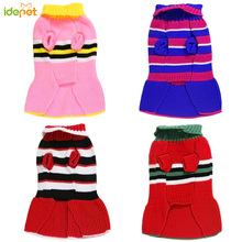 Dog Sweater Skirt Pet Clothes For Small Medium Dogs Dresses Cat Coat Jacket Chihuahua knitted35