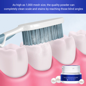 Teeth Whitening Powder Toothpaste Dental Tools White Teeth Cleaning Oral Hygiene Toothbrush Gel Remove Plaque Stains teeth whitening powder essence oral hygiene teeth cleaning pearl remove plaque stains care teeth whitening makeup dental tools