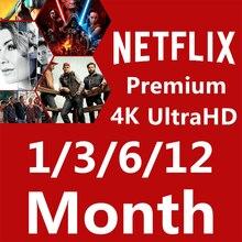 6 месяцев 3 месяца 1 месяц Netflix Global Europe Middle 4 экран ultra hd, PC гарантия smart tv приставка Android IOS планшет