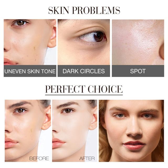 O.TWO.O Makeup BB Cream White  Cosmetics Natural Whitening Cream Waterproof Makeup Base Liquid Foundation Professional Cosmetics 5