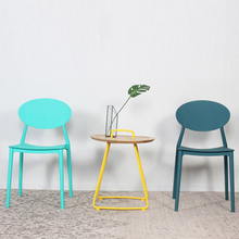 Nordic PP Plastic Dining Chair China Injection Molding Process Dining Chairs for Dining Rooms Kitchen Bedroom Living Room Chairs