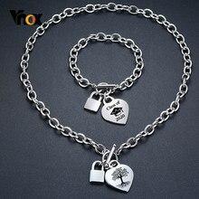Vnox unico personalizza icona simbolo braccialetti con ciondoli a forma di cuore per donna uomo non sbiadisce mai in acciaio inossidabile personalizza il regalo della famiglia