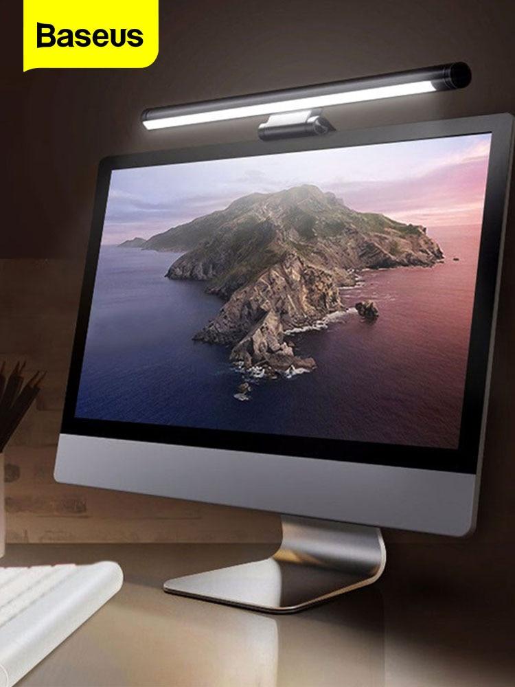 Baseus Desk-Lamp Hanging-Light Screen-Bar Lcd-Monitor Computer Laptop Study Office LED