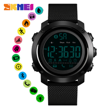 SKMEI Men Smart Watch Relogio Intelligent Masculino Pedometer Calorie Bluetooth Smartwatch Sport Wristband For Android IOS