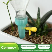 Automatic Drip Irrigation Watering System Spike Watering for Indoor Flower Plants Drinking Fountain Drip Irrigation Bottle цена
