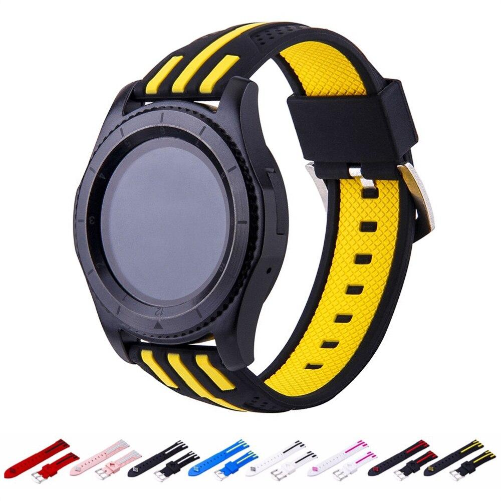 Band For Gear S3 frontier strap Samsung galaxy watch 46mm amazfit bip huawei watch gt strap sport watch Accessories 22mm watch46