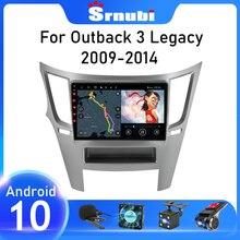 Reproductor Multimedia de vídeo y navegación GPS para Subaru Outback 4 Legacy 5, unidad principal de DVD estéreo, 2Din, Android 10, para Subaru Outback 2009 - 2014