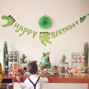 Image 1 - لوازم حفلات الديناصور لدينو كعكة القبعات العالية بالونات الديناصورات ملصقات الوشم ديكور ديناصور ديكور الحدث لوازم الحفلة للأطفال