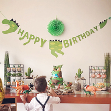 Fournitures de fête dinosaure, tatouages, autocollants, fournitures de fête, pour enfants, Dino décoration de gâteau