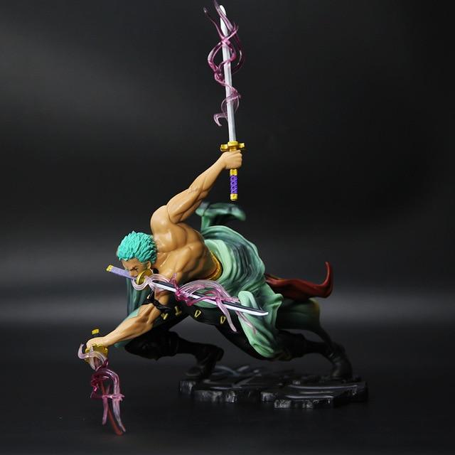New 1PCS Anime One Piece 16CM PVC Fugure Models Roronoa Zoro Action Figure New world Roronoa - One Piece Store