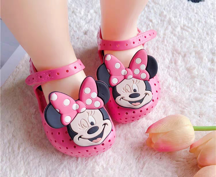 Mini Melissa Ultragirl Princess Girl Jelly Shoes Sandals 2020 NewBaby Shoes Soft Bottom Melissa Sandals For Kids Non-slip