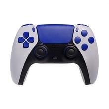 Kontrol düğmesi Joystick anahtarı değiştirme Shell kılıf kapak kapağı PS5 Gamepad kolu aksesuarları