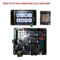 MKS BASE v1.6 + MKS TFT32 V4.0 écran tactile tout en un contrôleur imprimante 3d kit de démarrage imprimante Reprap TFT 32 panneau de commande