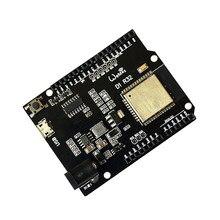 Esp32 placa de desenvolvimento para wemos d1 mini arduino uno r3 d1 r32 wi fi sem fio bluetooth placa desenvolvimento ch340 4m memória um