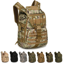 цена на Tactical Camouflage Army Backpack Men Military Bags Assault Molle Hunting Backpack Trekking Hiking Camping Rucksack