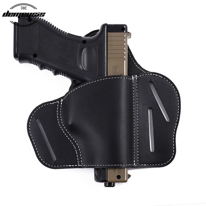 Military Tactical Universal Pistol Holster Airsoft Pistol Belt Holster Glock 17 19 21 23 26 Beretta 92 Sig Sauer P226 SP2022(China)