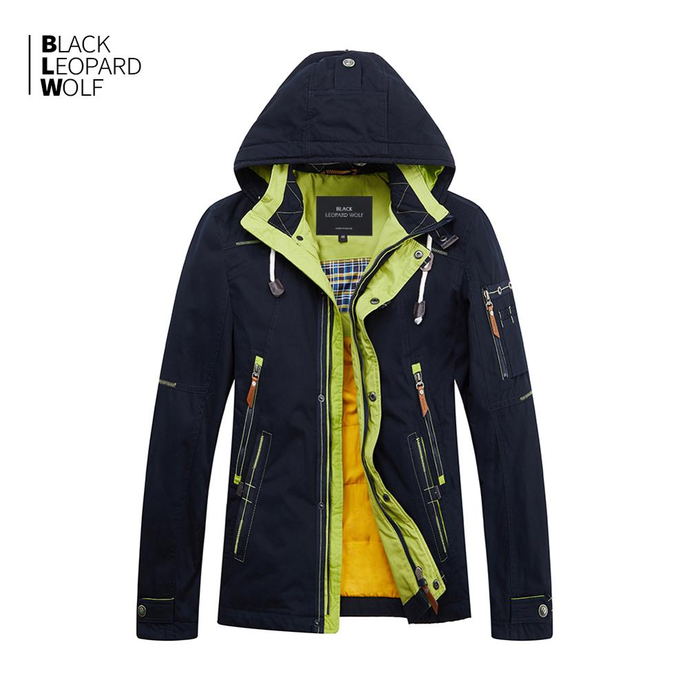 Blackleopardwolf 2019 New Arrival Spring Jacket Men Thick Cotton High Quality With A Hood Down Jacket For Spring ZC-027