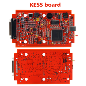Image 3 - EU Red KESS  V5.017 V2.53 Master ktag V7.020 V2.25 4LED Manager turning kit No Token Reading Limited KESS V2.47 ECU programmer