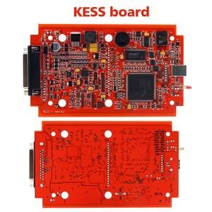 Image 3 - EU Red KESS V5.017 V2.53 마스터 ktag V7.020 V2.25 4LED 관리자 터닝 키트 No Token Reading Limited KESS V2.47 ECU 프로그래머