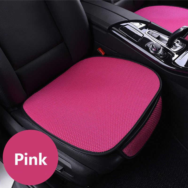 WLMWL Universal ice silk Car seat cushion for Renault all models logan scenic fluence duster megane captur laguna kadjar