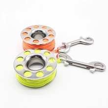 Spool-Finger-Reel Diving Dive Snap-Bolt Tsmc-316 Underwater-Fishing Stainless-Steel