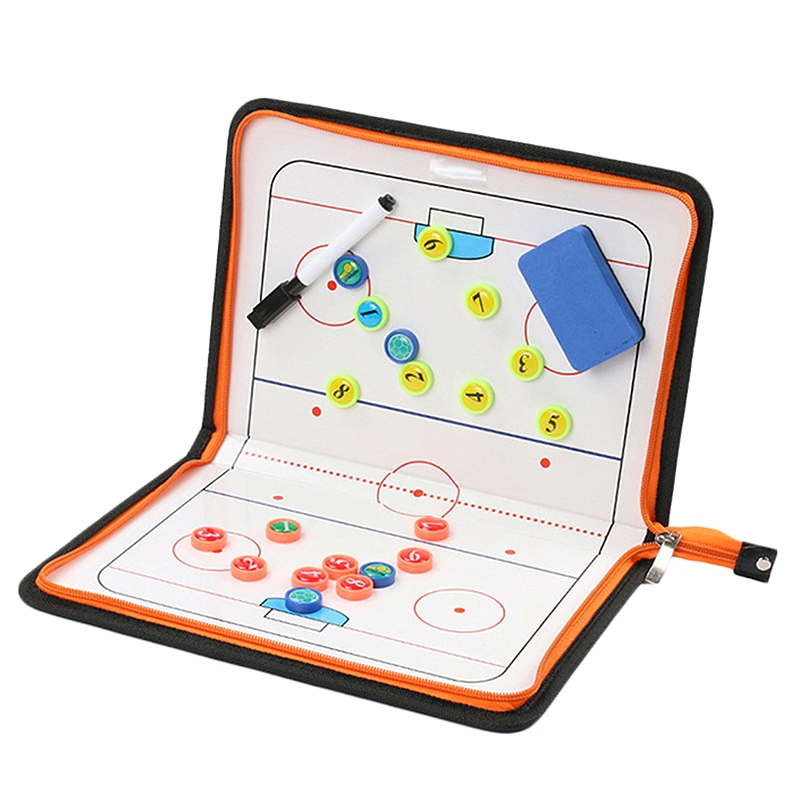 TOP!-Hockey Clip Board Ice Hockey Clipboard Game Match Training Plan Accesories