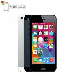 IPhone 5 odblokowany telefon komórkowy 16 GB/32 GB/64 GB ROM IOS 4.0 cala 8MP WIFI GPS 100% fabrycznie oryginalny apple Smartphone