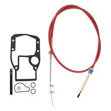 Mais baixo conjunto do cabo do deslocamento para omc cobra sterndrive substitui 987661 novo