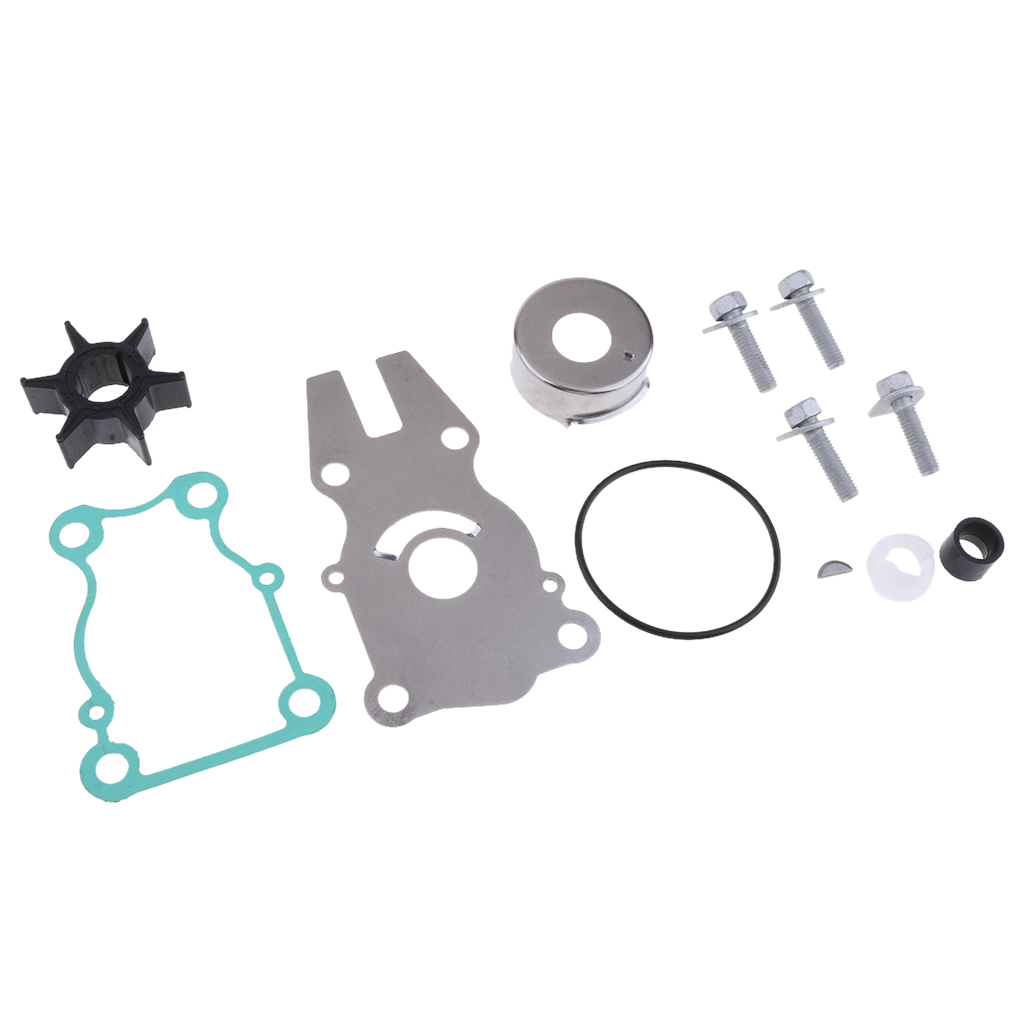 63V-W0078-01 Water Pump Impeller Kit for Yamaha Parsun HDX 15hp F15 Outboard