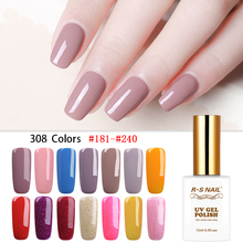 RS NAIL Gel Nail Polish French Manicure Vernis Semi Permanant UV LED Lakiery Hybrydowe Art Professional for Salon 15ml