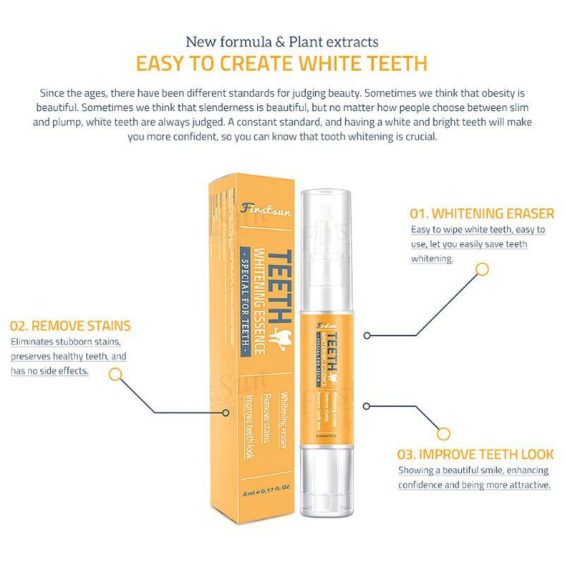 Купить с кэшбэком Teeth Whitening Pen Tooth Bleach Gel Gentle Stains Remover Oral Hygiene Care