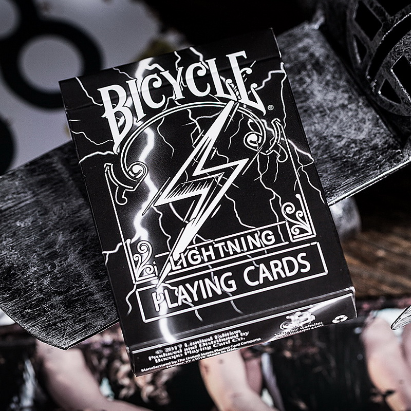 Bicycle Lightning Playing Cards Standard Poker Size USPCC Magic Card Games Magic Props Magic Tricks For Magician