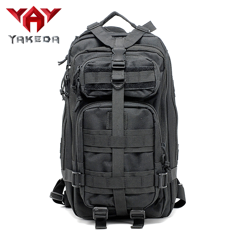 YAKEDA 2019 Πεζοπορία Κάμπινγκ Camouflage 35L Αδιάβροχο Στρατό Τακτικής Backpack Υπαίθριο Στρατιωτικό Σακίδιο Πεζοπορία Πεζοπορία Fishin