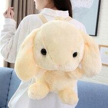 50cm cartoon cute plush rabbit backpack toy pillow children doll birthday gift WJ211