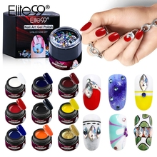Elite99 6 Pieces/lot Spider Gel Creative Wire Drawing Nails