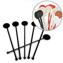 Blender Muddler Stirring-Rod Mixing-Sticks Kitchen-Bar Beverage-Drink Plastic for 50pcs