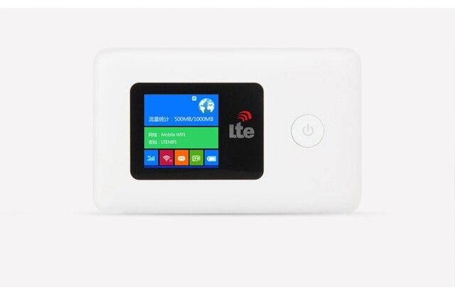 LR113 4G router bezprzewodowy lte USB wifi modem karty Sim Router MIFI kieszeń hotspot
