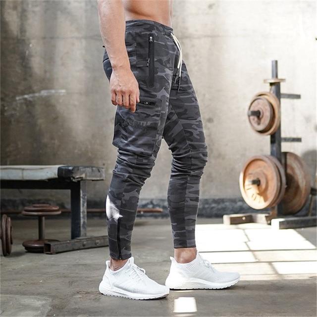 2020 New Autumn Winter Men Camouflage Casual Pants Patchwork Sweatpants Male Cargo Pants Multi-pocket Sportwear Mens Joggers Others Men's Fashion