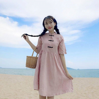 Japan Girl Ladies Korean Streetwear Girls Dress Women Summer Chic Elegance Dress Lady Casual Fashion Dress 1