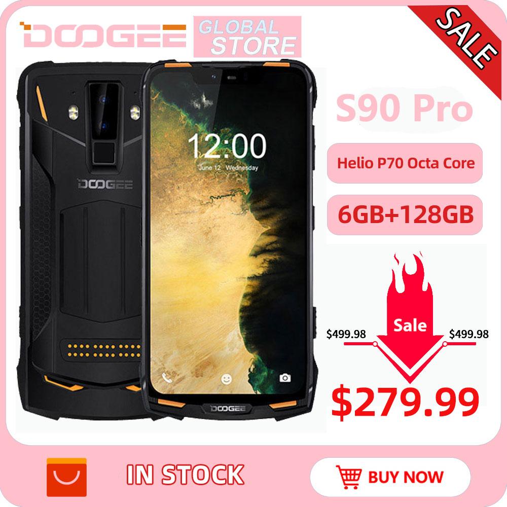 Фото. IP68 DOOGEE S90 Pro модульный прочный мобильный телефон 6,18 дюймов дисплей 12V2A 5050 мАч Helio P70