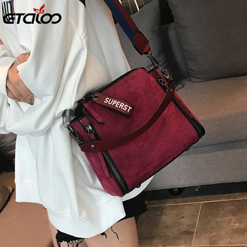 Women Messenger Bags Shoulder Vintage Bag Ladies Crossbody Bag Handbag Female Tote Leather Clutch Female Women's Bag women quilted chain shoulder bag wide strap plaid messenger handbag female leather tote bags small diamond lattice crossbody bag