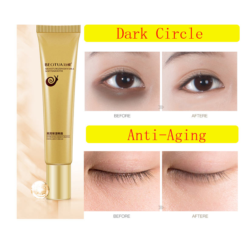 snail Anti Winkles Eye Cream Anti-Puffiness Dark Circle Anti-Aging Moisturizing Eyes Creams Firming anti-aging Facial Skin