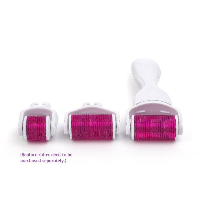 1200 aiguilles Micro-aiguille Derma rouleau pur Microneedling 0.25mm aiguilles longueur titane Dermoroller Microniddle rouleau pour visage