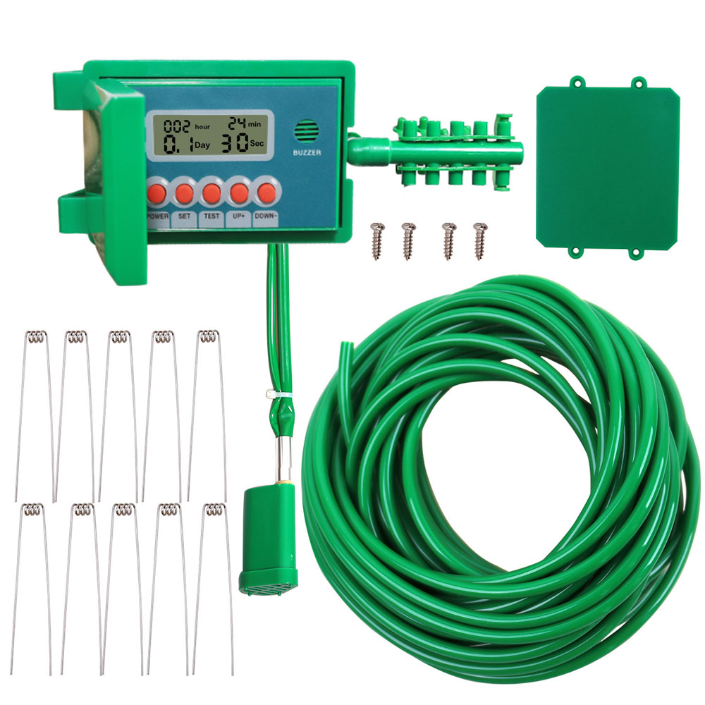 YL22018 Electronic Ball-Valve Intelligent Digital LCD Water Timer Drip Irrigation Controller for Automatic Garden Watering Syste